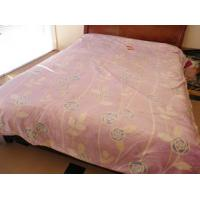 Buy cheap Breathable 100% Modal Blanket , Soft Double Printed Raschel Blanket product