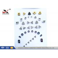 Buy cheap Cermet Indexable Carbide Inserts Full Range For Finishing Machining Steel Material product