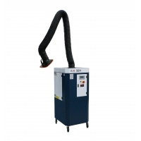 Buy cheap 3m Suction Arm PP Hood 1500m3/H Mobile Fume Extractor product
