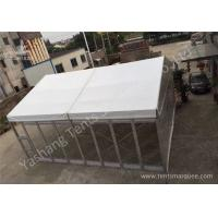 Quality Small Transparent Glass Wall Custom Event Tents , Corporate Event Tent for sale
