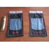 Buy cheap Moisture Proof Plastic Cigar Packaging Bag With Resealable Ziplock product