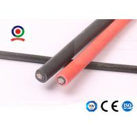 Buy cheap Solar System XLPE 4mm Solar Cable / Single Core Electrical Cable Heat Resistance product
