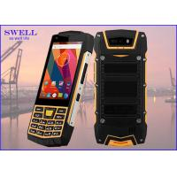 Quality Dual Sim Rugged quad core SmartPhone , outdoor cell phone Rear 5.0MP Camera for sale