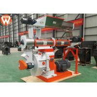 Buy cheap Final 2-15mm Pellet Production Plant With SKF Bearing Two Injection Oil Systems product