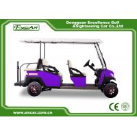 Buy cheap 6 Passengers Electric Golf Carts 350A Controller Electrical Golf Car from wholesalers