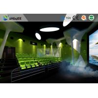 Buy cheap Special Effect Large Curved Screen 5D Movie Theater Dynamic Chair product