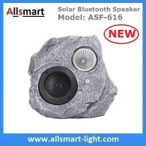 Buy cheap Solar Bluetooth Speaker Resin Stone loudspeaker Lamp PIR Motion Sensor Lighting for Outdoor Garden Patio Backyard Park product