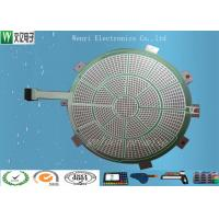 Buy cheap Round Green Insulate PET Flex Circuit 0.125 Mm Silver Paste Print For Sports Electronic Dart product