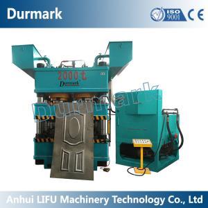 Buy cheap China Manufacturer DHP-6000T steel door embossing machine,metal door embossing product