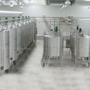 Buy cheap 2000LPH Yogurt  Modern Milk Dairy Processing Plant Machinery product