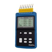 Buy cheap High Precision 8 Channel Thermocouple Data Logger Large LCD Display With Back from wholesalers