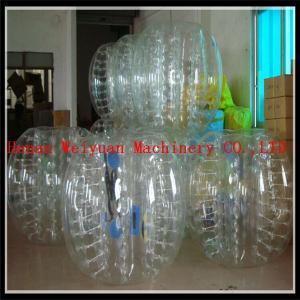 China TPU Transparent Bumper ball size 1.25m/1.55m/1.8m on sale