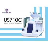 China Deep Skin Cleaning Water Oxygen Jet Peel Machine Acne Removal 6MHZ Frequency on sale