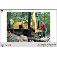 Buy cheap 179KW Engine Power Hydraulic Core Drill Rig For Gold / Silver / Copper Mine product