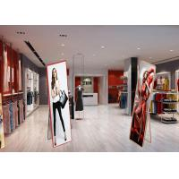 Buy cheap Floor Standing LED Poster Display Screen Ultra Thin Advertising Panel product