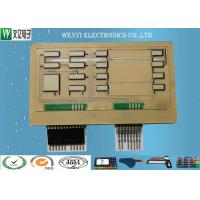 Buy cheap Multi Layer FPC Embossing Membrane Switch With 2.54 Connectors And Pins product