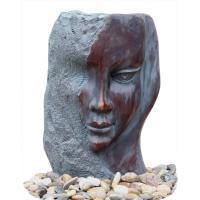 Buy cheap Customized Size Indoor / Outdoor Copper Water Fountains In Lady Face product