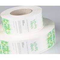 Buy cheap Food PVC Self Adhesive Labels Matte / Glossy Lamination Finish CMYK Colors product