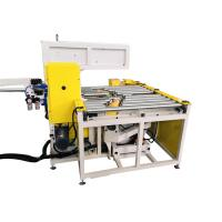 Buy cheap Automatic Steel Coil Wrapping Machine With Adjustable Take Up Arm Φ30-65mm product