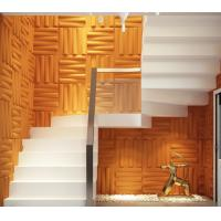 Buy cheap Removable Bedroom / Bathroom Wall Sticker 3D Decorative Wall Panels Sound-absorbing product