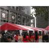 Quality Temporary Outdoor Event Canopy Tent UV Resitant Flame Retardant 10X33 M for sale