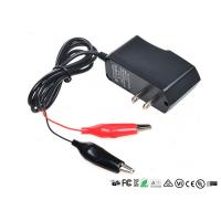 Buy cheap Alligator Clips Battery Charger With LED When Charging Red Charged Green product