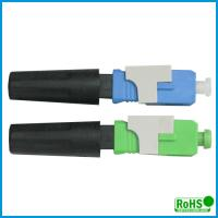 China UPC Fiber Optic Patch Cable Connector , Ceramic Optical Cable Connector on sale