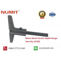 Buy cheap ISO Certifide Instruments Mono-Block Vernier Depth Gauges , Thickness Gauge Tool product