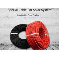 Buy cheap Non Toxic Solar System Cable 4mm2 Deformation Resistant At High Temperature XLPE product