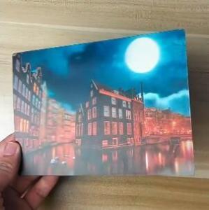 Buy cheap OK3D printing factory supply Good Quality Custom Offset Printing Plastic PET Lenticular 3D lenticular card product