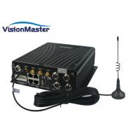 Buy cheap WiFi 3G 4G Mobile DVR H264 Compression 4CH 2TB HDD Aviation Connector With SD Card product