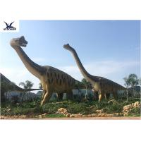Buy cheap Amusement Park Equipment Real Life Size Dinosaurs , Dinosaur Lawn Ornament  product