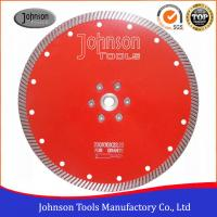 Buy cheap Diamond Stone Cutting Blades For Hand Held Saw 2.6mm Segment Thickness from wholesalers