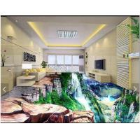 China Waterproof Chemical Resistance Epoxy Resin 3D floor Paint on sale