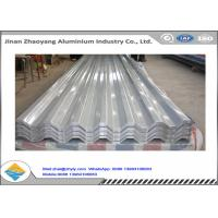 Buy cheap 3003 3004 Corrugated Aluminum Roofing Sheet / Embossed Zinc Aluminum Roofing Sheet product