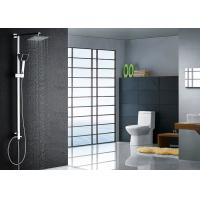 Buy cheap Super Thin Square Rainfall Modern Shower Fixtures , Chrome Shower Fixtures ROVATE product