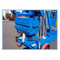 Buy cheap 6 Meter Platform Height Trailer Mounted Lift Vertical Mast Lift For One Person product
