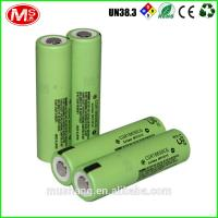 Quality rechargeable 18650 lithium battery 3.7v lifepo4 battery cell for electric vehicle for sale