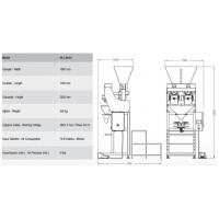 Buy cheap SA-L SERIES Semi Automatic Two Head Linear Weigher product