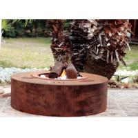 Buy cheap Eco Friendly Attractive Garden Heating Corten Steel Fire Pit Round Shape  product