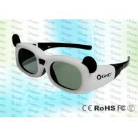 Buy cheap 144Hz Children 0.7Ma Style DLP Link Active Shutter 3D Glasses With CR2032 Lithium Battery product