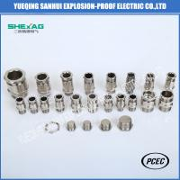 China BDM-10 single sealed Explosion Proof  Weatherproof  Cable Glands for non-armoured Cable on sale
