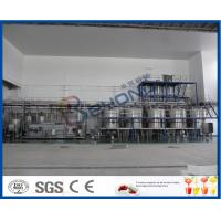 Buy cheap 3000-4000BPH Soft Drink Production Line , Beverage Production Process Semi Automatic Soda Filling Machine product