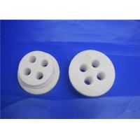 China Alumina Ceramic Disc With Small Hole , High Temp Ceramic Terminal Housing Multiple on sale