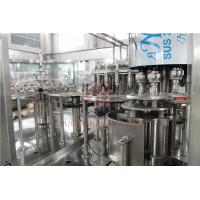 Buy cheap Plastic Aqua Minaerl Water / Liquor /  Fruit Filling Machine , Juice Bottling Machine product