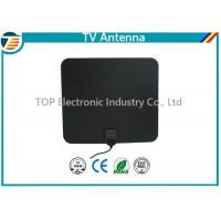 Buy cheap 174-230/470-862 MHz Digital TV Antenna Indoor Flat Design Coaxial Cable product