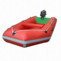 Buy cheap Inflatable Boat, Customized Logo Printings are Accepted product