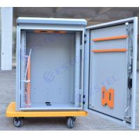 Buy cheap Single Wall Steel Outdoor Pole Mount Cabinet Power Distribution Small Box IP55 from wholesalers