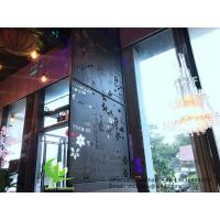 Buy cheap aluminum cutting screen with various patterns design laser cutting panel for balcony facade window product