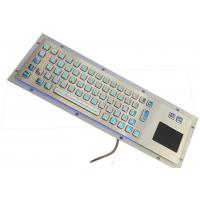 Buy cheap Backlit Waterproof Industrial Touch Pad Keyboard With 67 Stainless Steel Key product